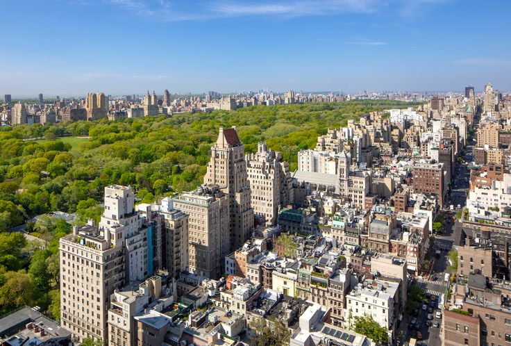 Fifth Avenue and Central Park from 667 Madison Avenue