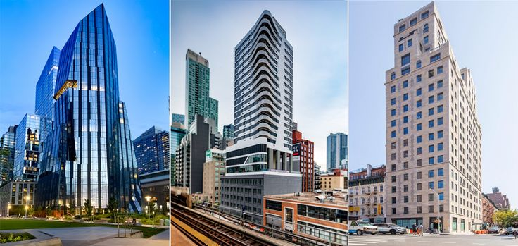 From Williamsburg to Upper Manhattan, eye-catching buildings took shape all over New York last year.