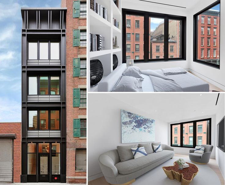 All images of 246 Front Street #TH via Douglas Elliman
