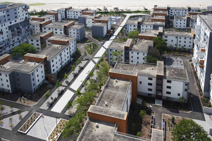 Arverne View on the Far Rockaway peninsula in Queens (Image via OCV Architects)