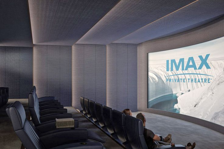 Experience Football Sunday in these Movie Theaters, Screening Rooms, and Lounges (130 William IMAX theater via Corcoran)
