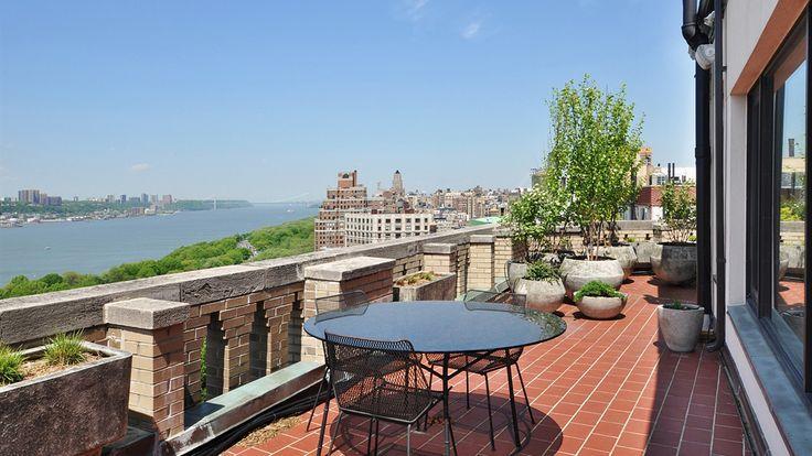 Terrace, 173 Riverside Drive, Condo, Manhattan, NYC