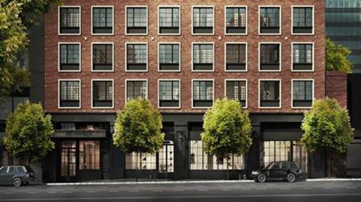 Rendering of The Harrison at 27-21 44th Drive (GF55 Partners)