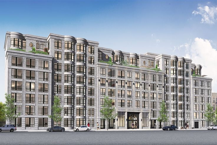 Rendering of 564 St. John's Place showing older design; ( via Karl Fischer Architect)