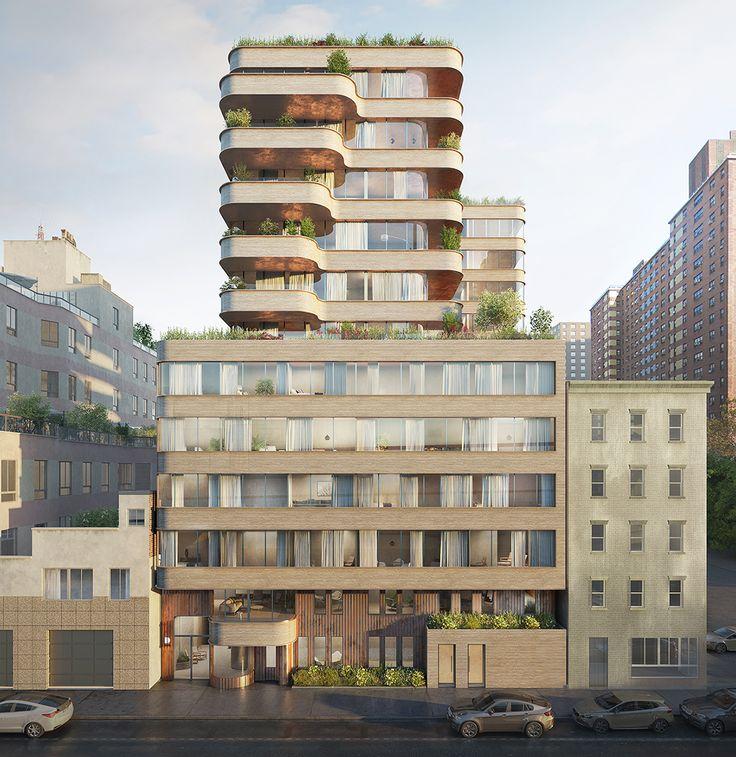 Rendering of 208 Delancey Street via Filippo Bolognese
