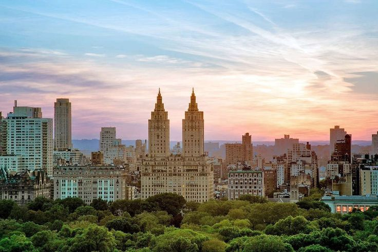 The San Remo and the Central Park West skyline (Corcoran)