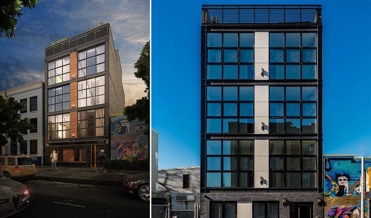Leasing has launched at 1513 Gates Avenue in Bushwick, Brooklyn (Image via Nooklyn)