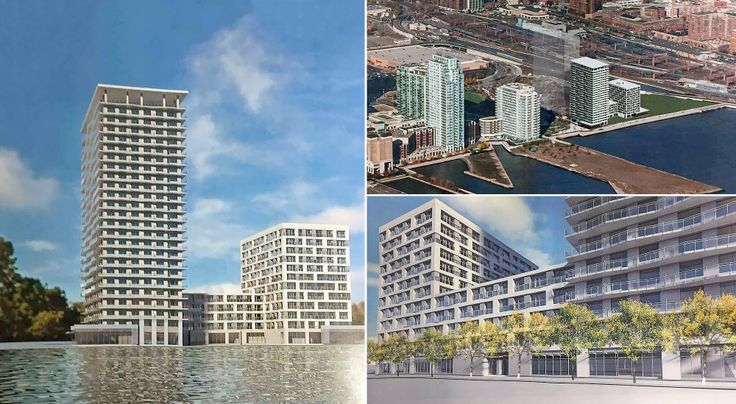 Renderings of 700 Washington Boulevard via HLW International Architecture and Engineering