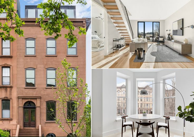 A brownstone condominium is the best way to enjoy the merge of classic style and modern convenience