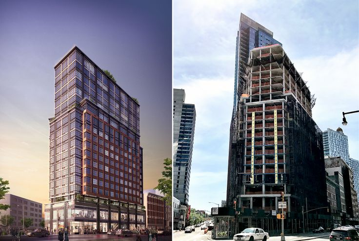1 Flatbush Avenue; Renderings courtesy of MAQE/Hill West Architects