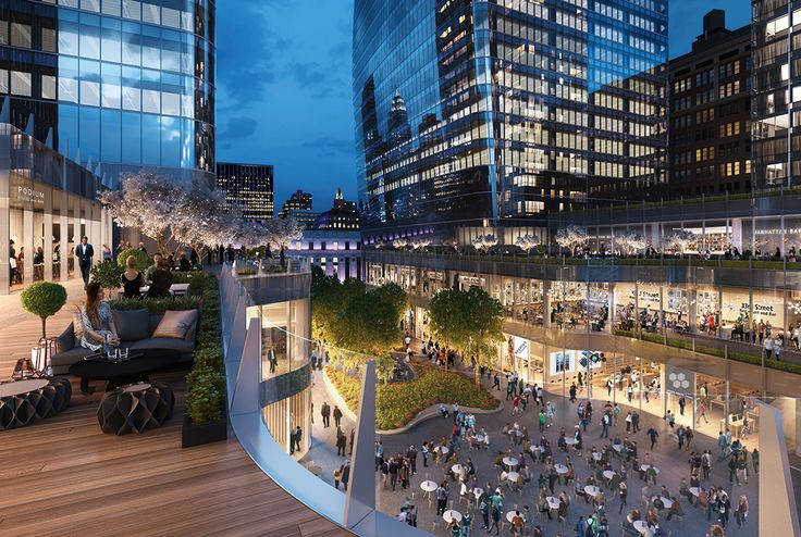 Manhattan West renderings via Brookfield Properties