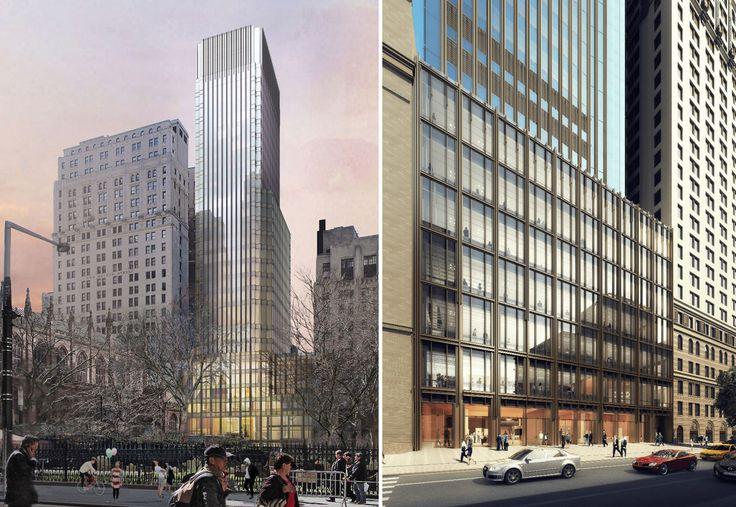 74 Trinity Place renderings courtesy of Pelli Clarke Pelli Architects
