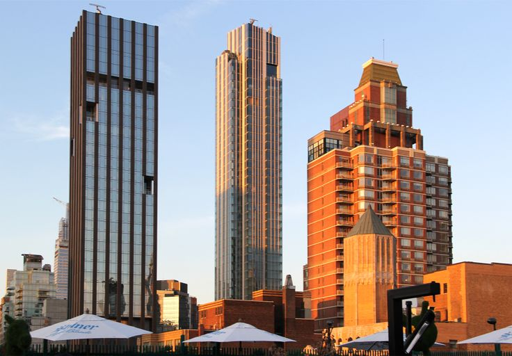 Madison House as seen from 230 Fifth Avenue rooftop via CityRealty