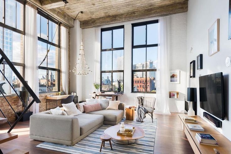 This week's most beautiful apartments can be found in all neighborhoods and price ranges. (Printing House #623 via Douglas Elliman)