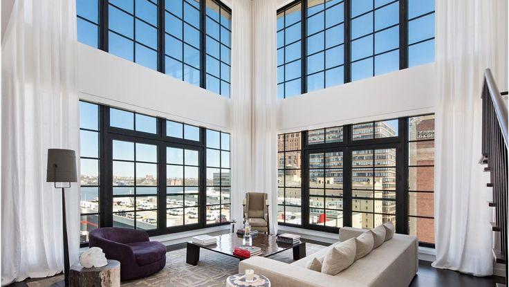 Living Room, 200 Eleventh Avenue, Condo, Manhattan, NYC