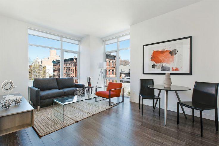 Hub Avenue B, a 40-unit rental that opened in 2016 at Avenue B and East 12th Street. (Image via hubaveb.com)