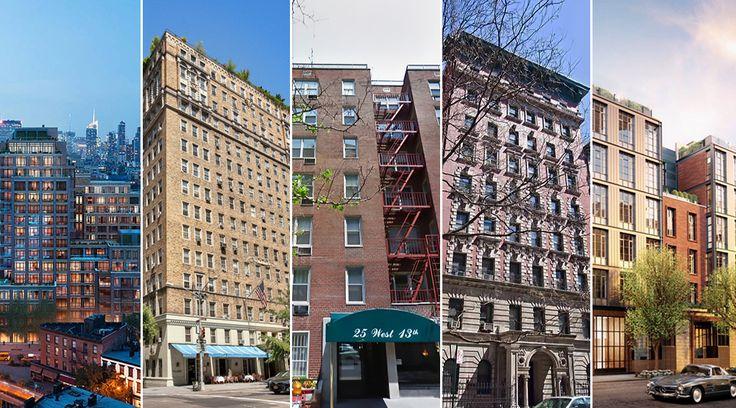 Top 5 Sales Building This Week in Greenwich Village