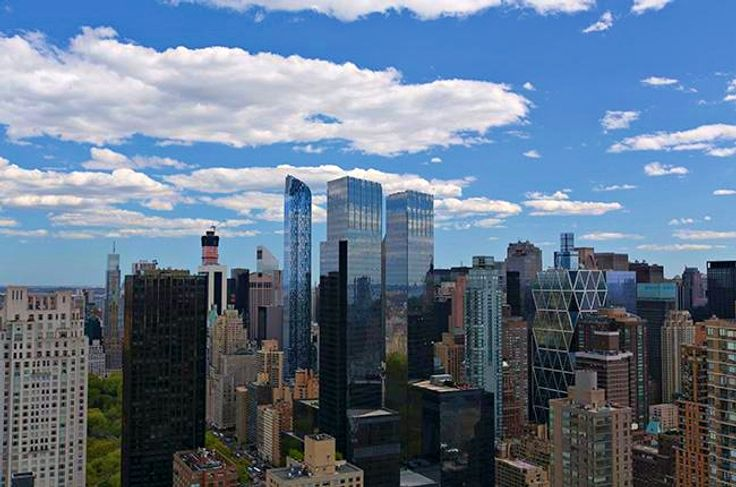 View from The Regent at 45 West 60th Street near Lincoln Center (Image via Glenwood Management)
