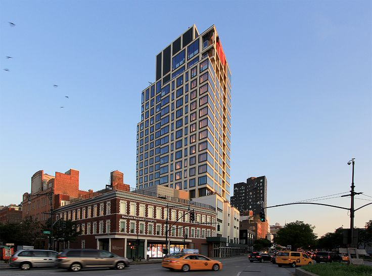 551W21 condominiums, located at 551 West 21st Street in West Chelsea.