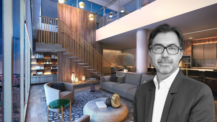 Jean-Gabriel Neukomm of JG Neukomm Architecture talks to CityRealty about designing Tangram House's interiors (All renderings by ArX Solutions)