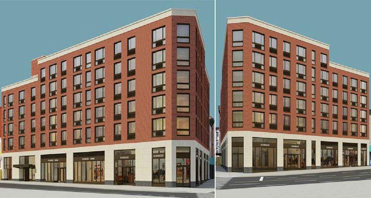Old Renderings of 215 Flatbush Avenue by Avinash K. Malhotra Architects