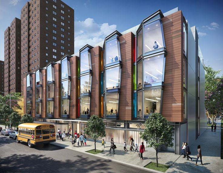 Cooke School and Institute Rendering by PBDW Architects