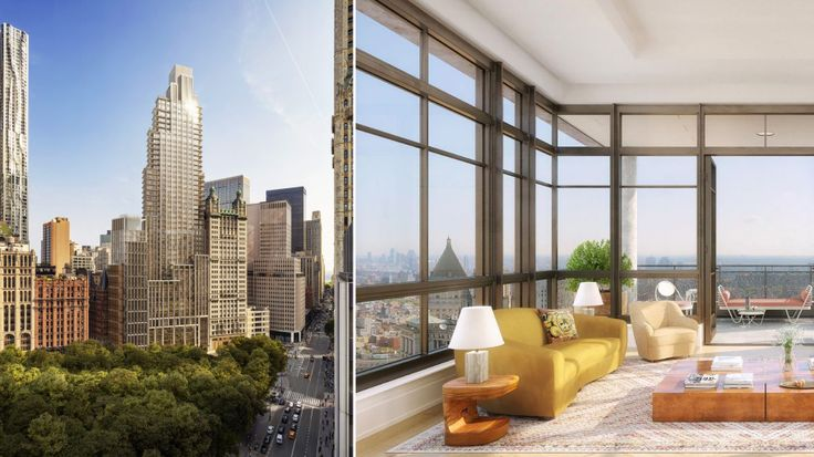 Renderings of 25 Park Row created by DBOX