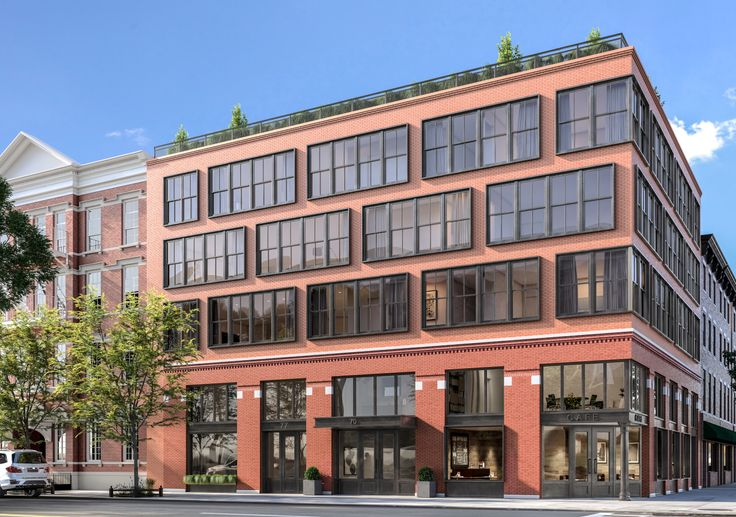 Exterior of 70 Henry Street; courtesy of MA Architects/Mettle Property Group