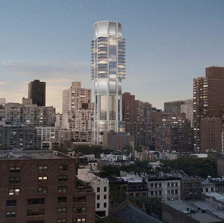Rendering of 249 East 62nd Street via Rafael Vinoly Architects