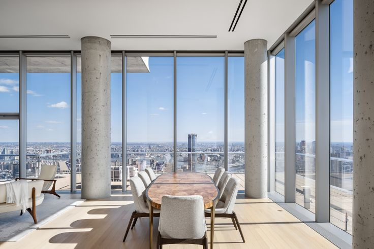 All images of 56 Leonard Street via Alexico Group | Hines