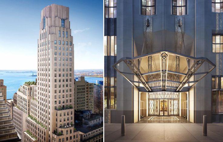 One Wall Street | Renderings created by DBOX for Macklowe Properties