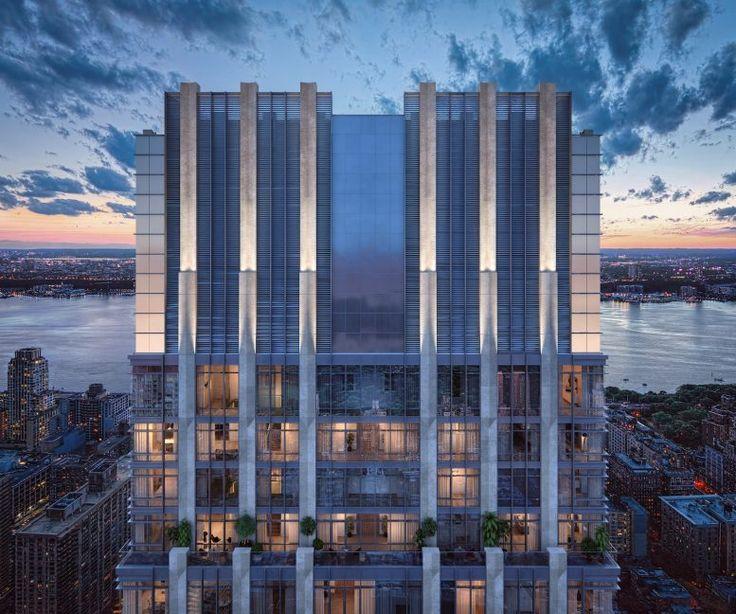 Rendering of 200 Amsterdam Avenue crown via Elkus Manfredi Architects