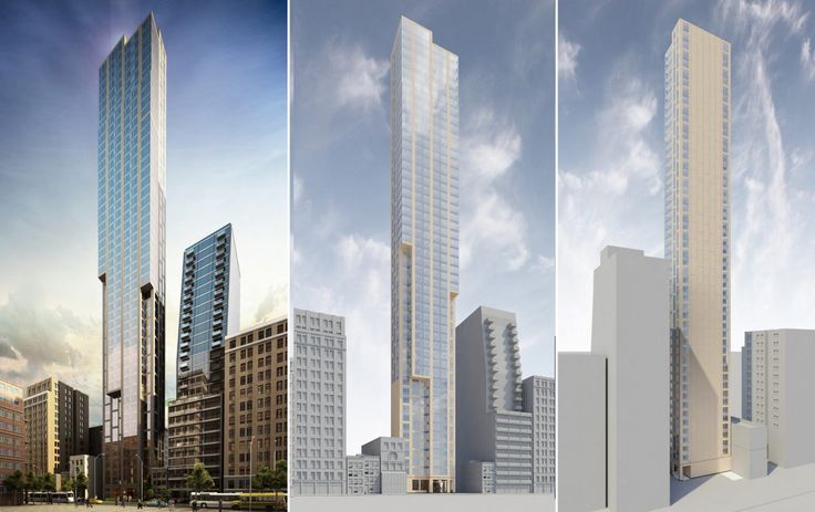 Shelved design for 131-145 West 47th Street by New Empire Real Estate Group/SLCE Architects