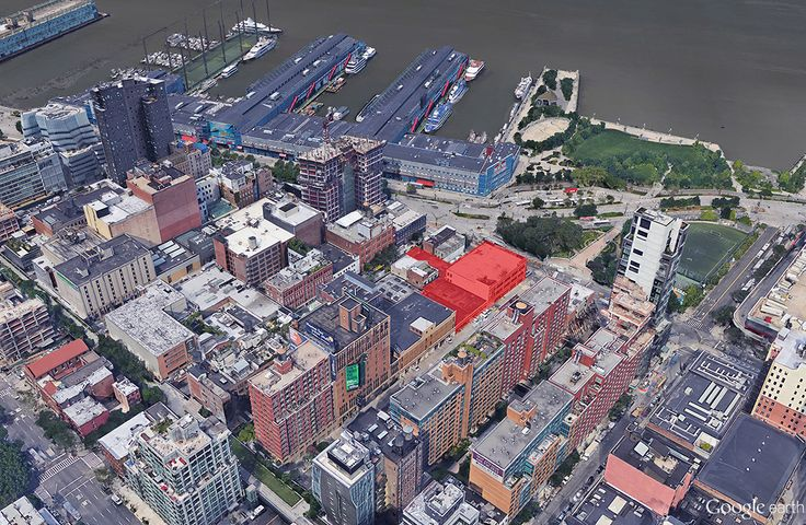 Related Compaies' West Chelsea development site; CityRealty