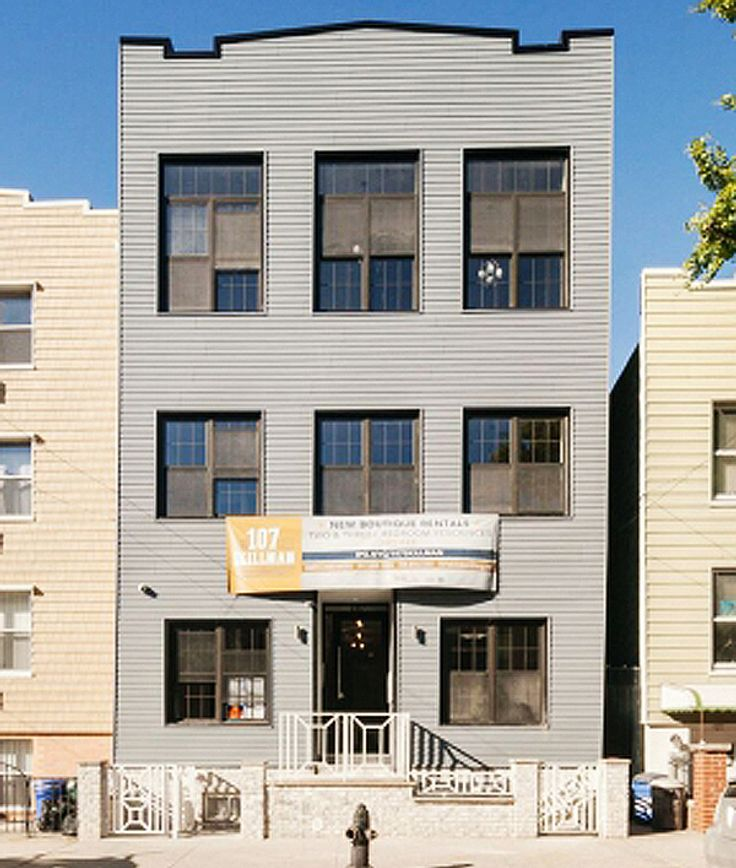 107 Skillman stands as a rental conversion development in East Williamsburg, now with six two- and three-bedroom units.