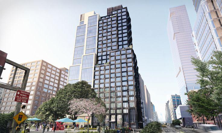 Renderings of 111 Varick Street via S9 Architecture