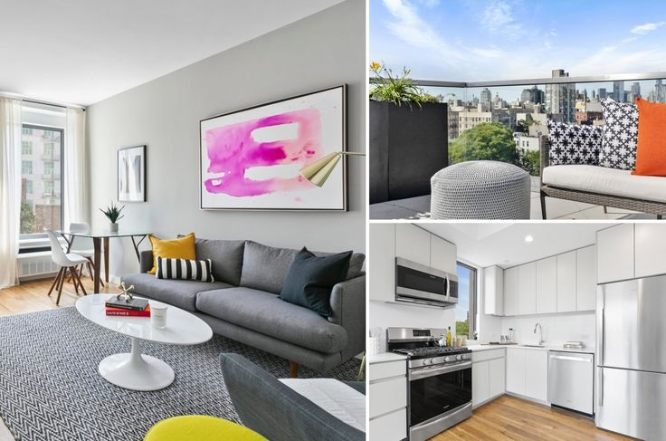 The newly built 123 Hope Street in Williamsburg offers luxury rentals with lifestyle amenities. (Images via Citi Habitats)