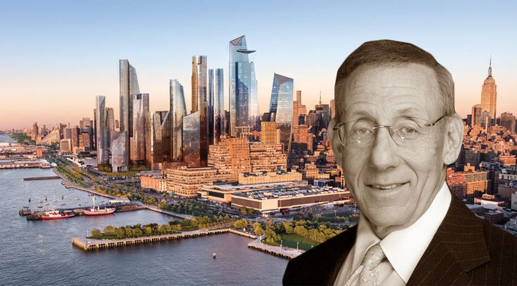 Stephen Ross, founder of Related Cos. and his Hudson Yards project