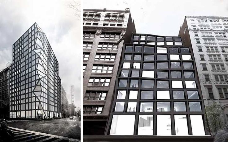 New renderings of the distinctive dual-tower development that will rise at 122 East 23rd Street on the corner of 23rd and Lexington.