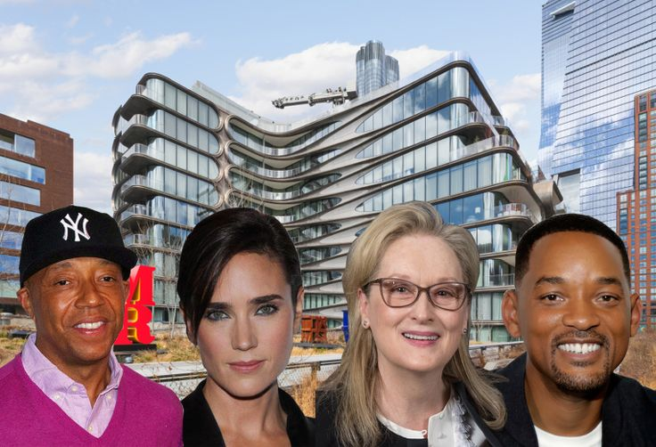 Apartments linked to Russell Simmons, Jennifer Connelly, Meryl Streep, and Will Smith all saw activity in March 2021