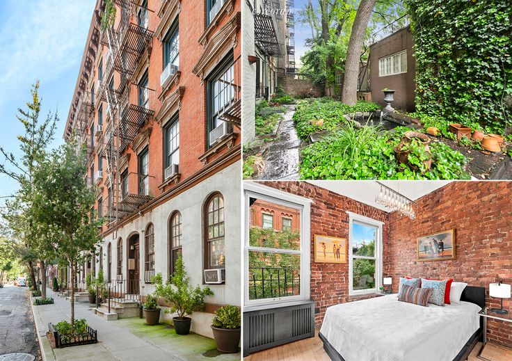 Photos of 86 Horatio, 354 West 12th Street, and 77 Perry Street