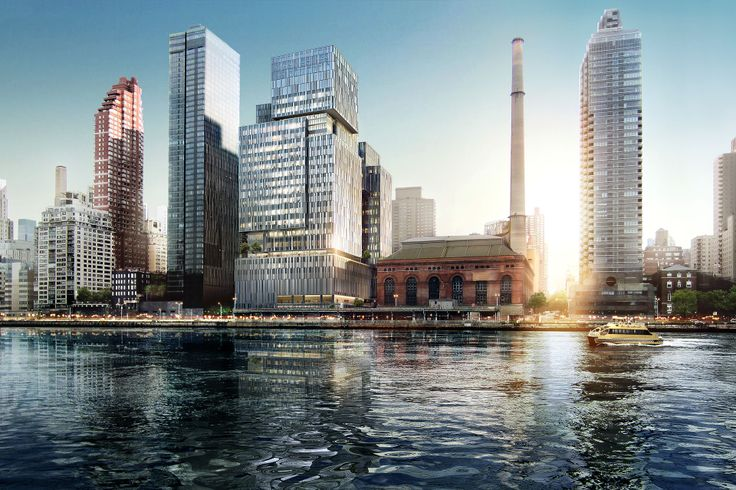 Situated on the East River, the terra cotta and glass facade will inspire an image of hope and positivity.