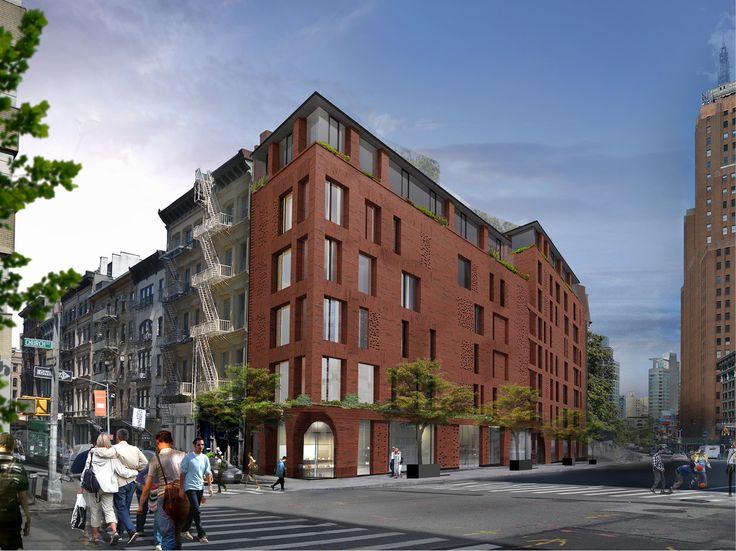 Rendering of 100 Franklin Street via DDG