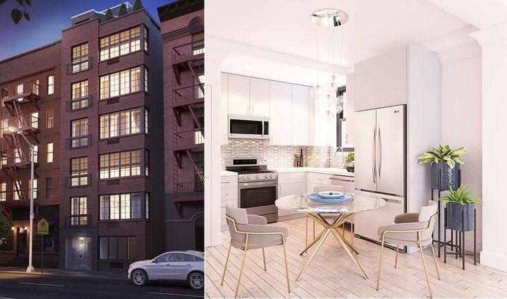 Baldwin Park Condominium renderings via Core Group NYC