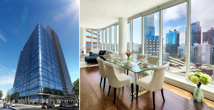 Star Tower exterior and unit interior