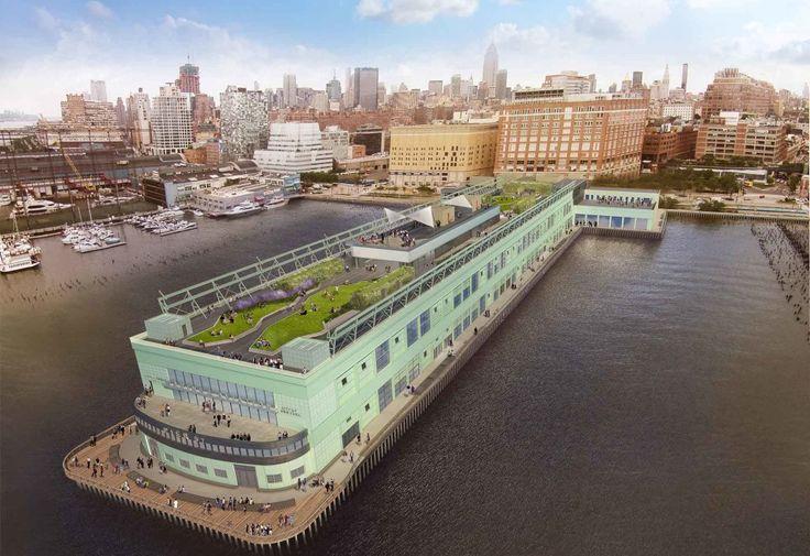 Pier 57; !Melk, Handel Architects, RXR Realty, Young Woo & Associates