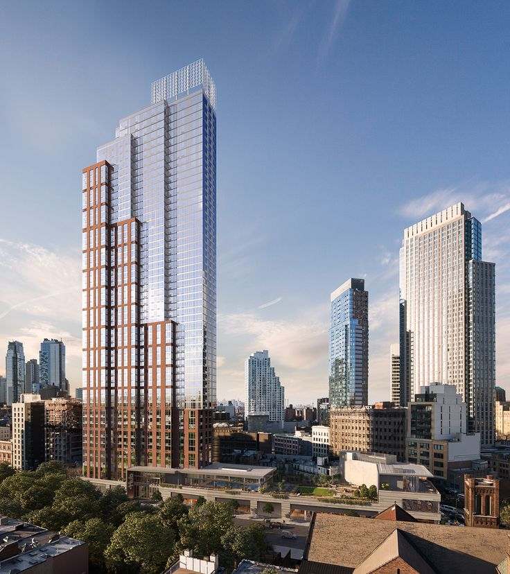Hub in Downtown Brooklyn, designed by Dattner Architects. (Image via hubbk.com)