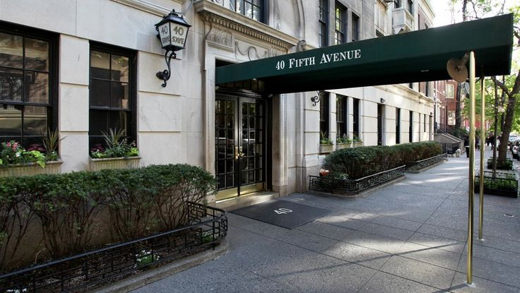 Entrance, 40 Fifth Avenue, Condo, Manhattan, NYC