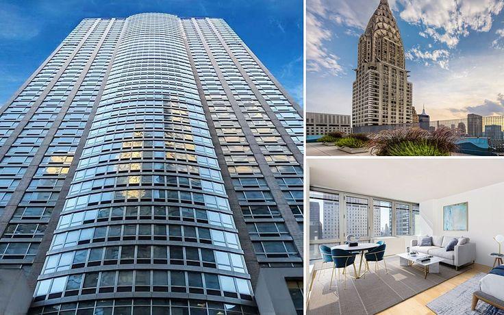 The Metropolis at 150 East 44th Street in Midtown East, via Rose Associates
