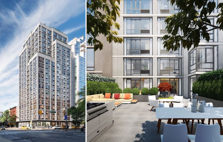 CODA, exterior and common terrace (Magnum Real Estate / GKV Architects)